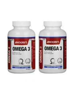 Biogen Omega 3 90 + 90 Value Pack