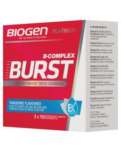 Biogen B-burst Tangerine 30's