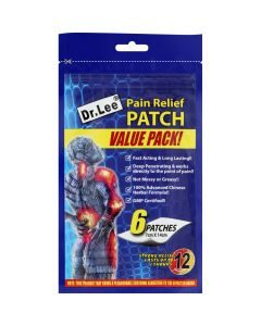 Dr Lee Pain Relief Patches 6's