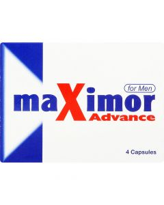 Maximor Advance For Men 4 Caps