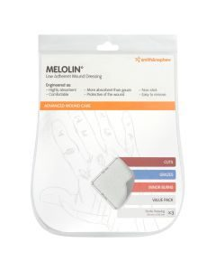 Melolin 100x100mm Env 3