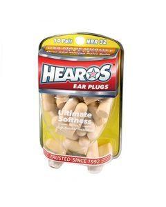 Hearos Ear Plugs Ultimate Softness Series 14 Pairs