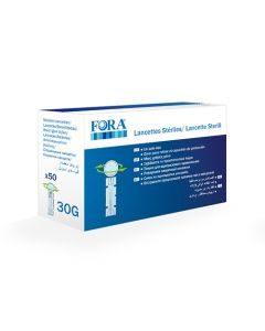 Fora Sterile Lancets 50 Pcs