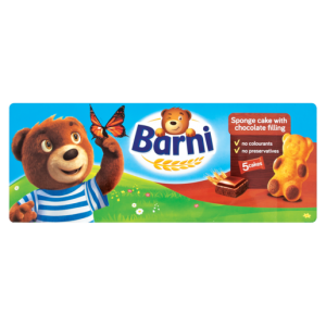 Barni Mini Chocolate Filled Cake 150g
