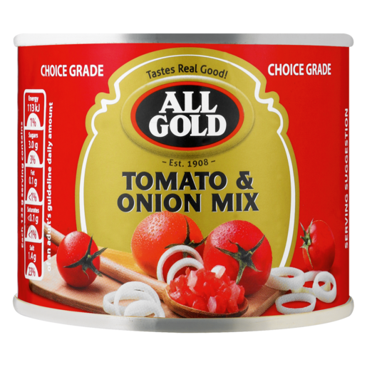 All Gold Tomato & Onion Mix Can 215g