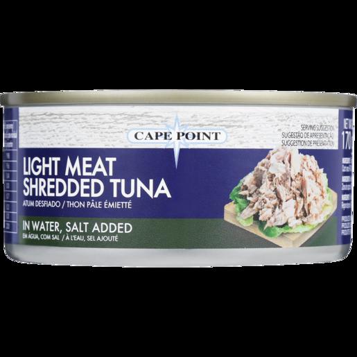 Cape Point Light Meat Shredded Tuna In Water, Salt Added 170g