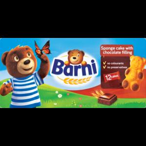 Barni Mini Chocolate Filled Cakes 12 x 30g