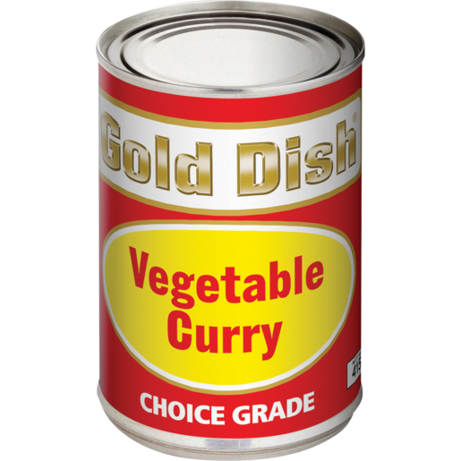 Gold Dish Vegetable Curry Tin 415g