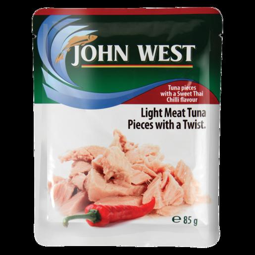 John West Tuna In Sweet Thai Chilli Pouch 85g