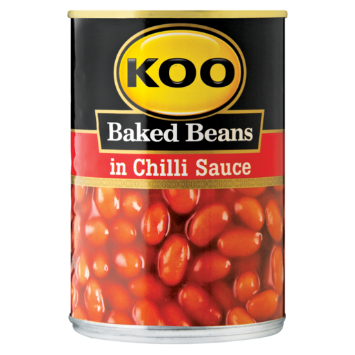 Koo Baked Beans In Chilli Sauce Can 420g