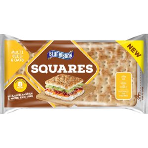 Blue Ribbon Multiseed & Oats Sandwich Squares 248g