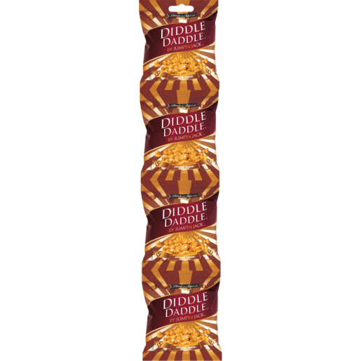 Diddle Daddle Caramel Coated Popcorn 4 x 22g