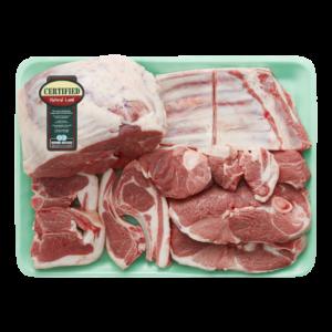 Certified Natural Lamb Bulk Pack Per kg