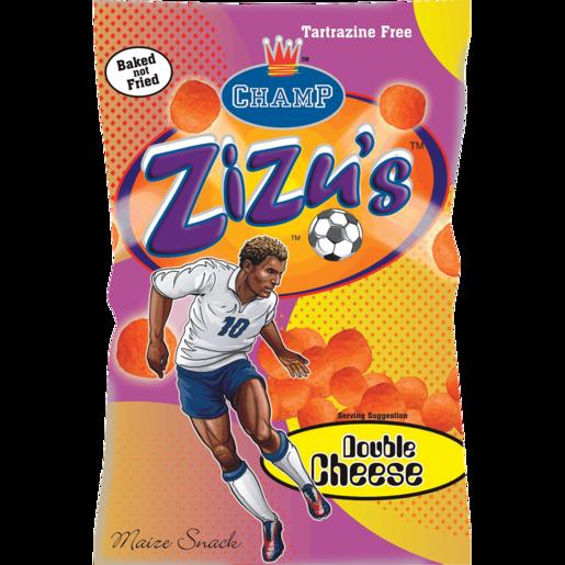 Champ Zizu's Double Cheese Maize Snack 100g