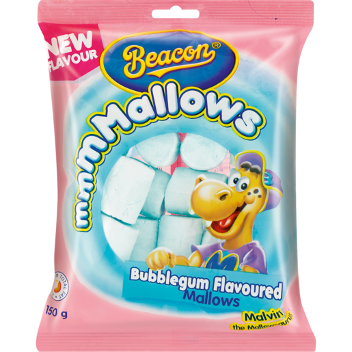 Beacon mmmMallows Bubblegum Flavoured Mallows 150g