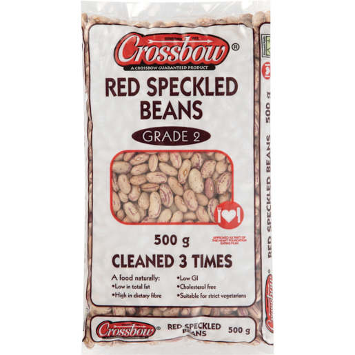 Crossbow Red Speckled Beans 500g