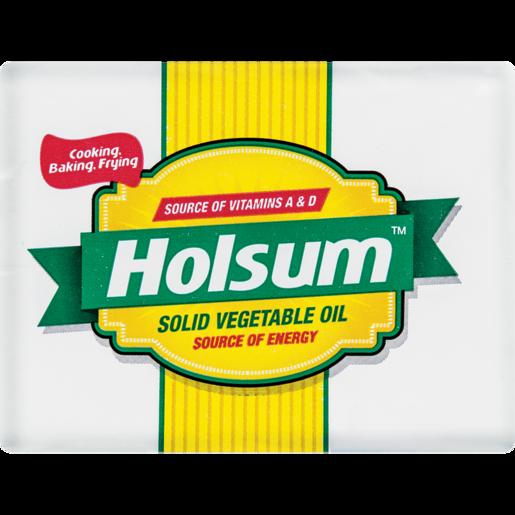 Holsum Solid Vegetable Oil Brick 125g