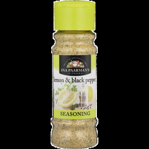 Ina Paarman's Lemon & Black Pepper Seasoning 200ml
