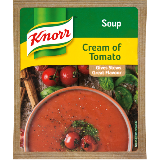 Knorr Cream Of Tomato Soup Packet 50g