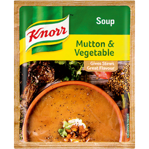 Knorr Mutton & Vegetable Packet Soup 50g