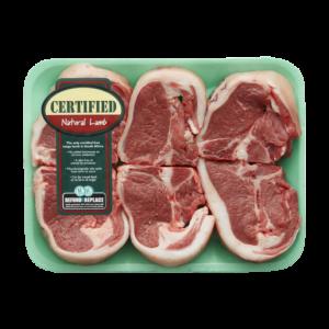 Certified Natural Lamb Loin Chops Per kg