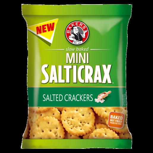 Bakers Mini Salticrax Salted Crackers 33g