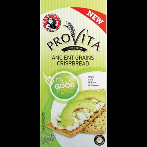 Bakers Provita Ancient Grains Crispbread 250g