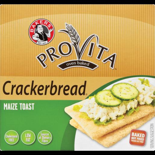 Bakers Provita Maize Toast Crackerbread 125g