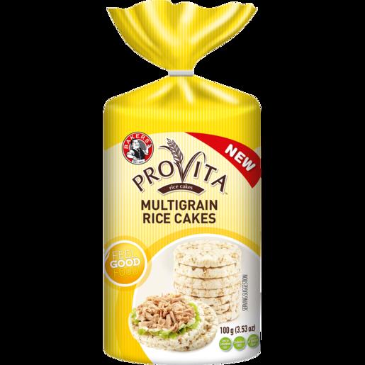 Bakers Provita Multigrain Rice Cakes 100g