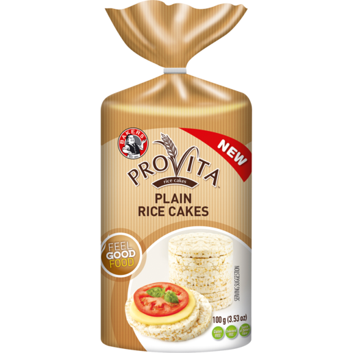 Bakers Provita Plain Rice Cakes 100g
