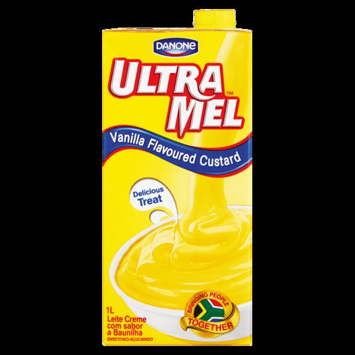 Danone Ultra Mel Vanilla Custard 1L