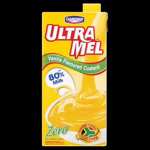 Danone Ultra Mel Zero Vanilla Custard 1L