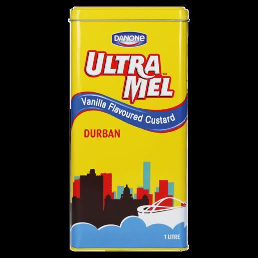 Danone Ultra Mel Vanilla Flavoured Custard Tin 1L