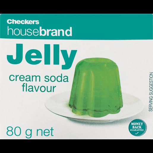 Checkers Housebrand Instant Cream Soda Jelly 80g