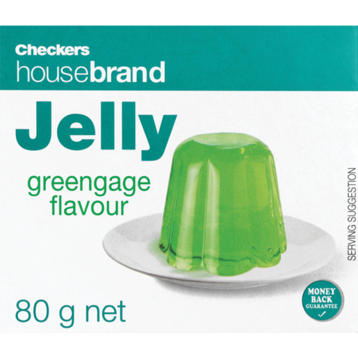 Checkers Housebrand Instant Greengage Jelly 80g