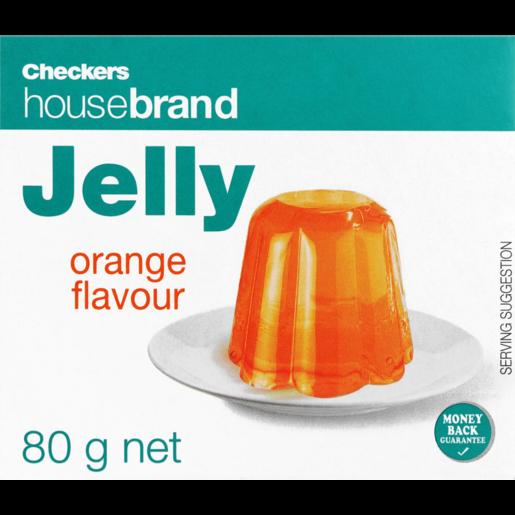 Checkers Housebrand Instant Orange Jelly 80g