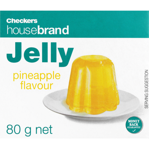 Checkers Housebrand Instant Pineapple Jelly 80g