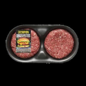Champion Burger Patties Per kg