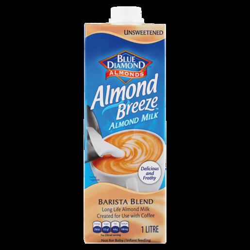 Blue Diamond Almond Breeze Barista Blend Almond Milk 1L