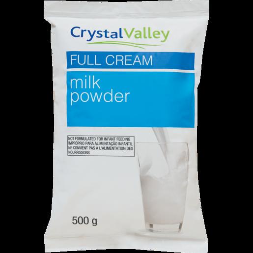 Crystal Valley Full Cream Milk Powder 500g