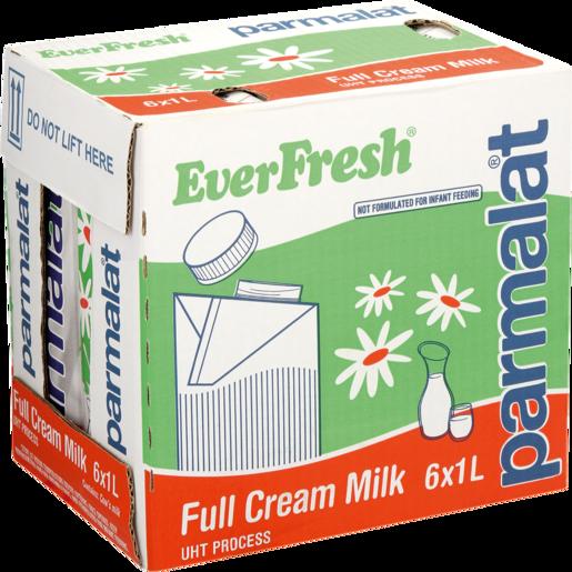 Everfresh UHT Full Cream Milk Pack 6 x 1L