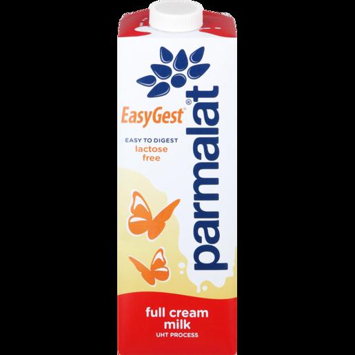 Parmalat EasyGest UHT Lactose Free Full Cream Milk Carton 1L