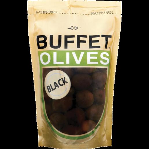 Buffet Black Olives Sachet 200g