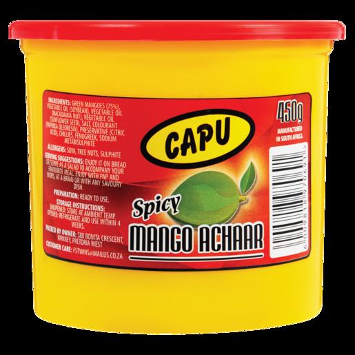 Capu Spicy Mango Achaar 450g