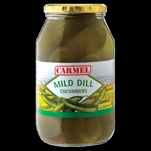 Carmel Mild Dill Cucumbers 750g