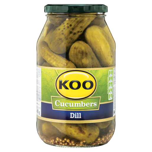 Koo Dill Cucumbers 750g