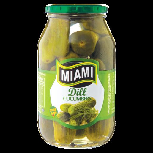 Miami Dill Cucumbers 760g