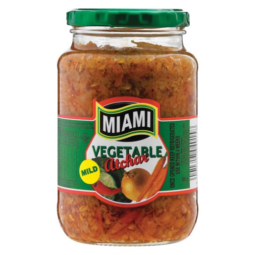 Miami Mild Vegetable Atchar 380g