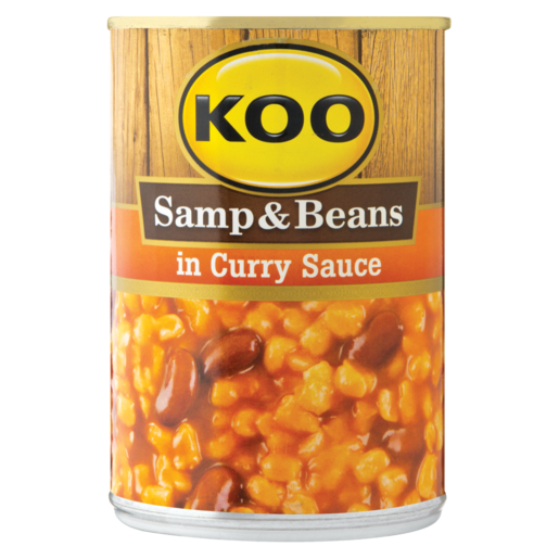 Koo Samp & Beans In Curry Sauce Can 400g