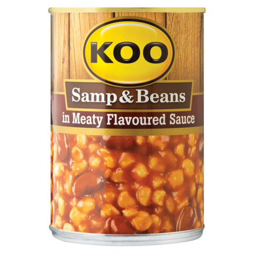 Koo Samp & Beans In Meaty Flavoured Sauce Can 400g